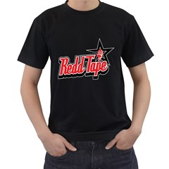 Redd Tape Mens' Two Sided T-shirt (Black) by Contest1703156