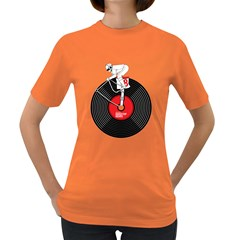 Disc Jockey Womens' T-shirt (Colored) by Contest1732468