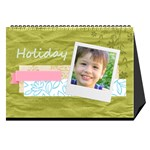 Kids and family book - Desktop Calendar 8.5  x 6