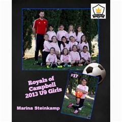 Royals U9 Girls 2013 By Arti Steinkamp   Collage 8  X 10    Aq23lcsr0lwz   Www Artscow Com 10 x8 Print - 10