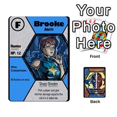 Queen Shadow Hunters / X Men Re Theme (bill s Wedding) By Ajax   Playing Cards 54 Designs   Ky9a8659osmz   Www Artscow Com Front - SpadeQ