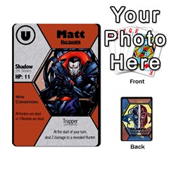 Shadow Hunters / X Men Re Theme (bill s Wedding) By Ajax   Playing Cards 54 Designs   Ky9a8659osmz   Www Artscow Com Front - Heart3