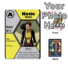 Ace Shadow Hunters / X Men Re Theme (bill s Wedding) By Ajax   Playing Cards 54 Designs   Ky9a8659osmz   Www Artscow Com Front - ClubA