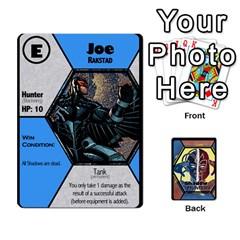 Jack Shadow Hunters / X Men Re Theme (bill s Wedding) By Ajax   Playing Cards 54 Designs   Ky9a8659osmz   Www Artscow Com Front - SpadeJ
