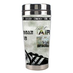 Tumbler Soccer By Pat Kirby   Stainless Steel Travel Tumbler   Kwu3gljh2t4s   Www Artscow Com Right