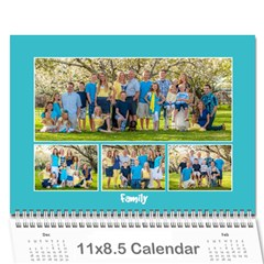 Miller Calendar For 2014 By Anna   Wall Calendar 11  X 8 5  (12 Months)   Wr6ikmco2gav   Www Artscow Com Cover