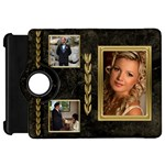 Black and Gold Marble Kindle Fire HD 7  Flip 360 Case - Kindle Fire HD Flip 360 Case
