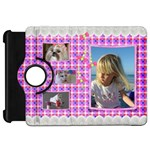 Pink Frill Kindle Fire HD 7  Flip 360 Case - Kindle Fire HD Flip 360 Case