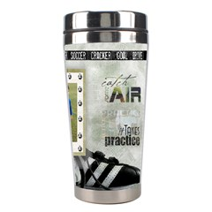 Tumbler Soccer Final By Pat Kirby   Stainless Steel Travel Tumbler   8srt1qowf7an   Www Artscow Com Right