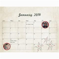 2014 Calendar By Jamie Kriegel   Wall Calendar 11  X 8 5  (12 Months)   Ymssyox76aj3   Www Artscow Com Jan 2014