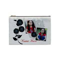 Cosmetic Bag (medium)   Classic Love By Jennyl   Cosmetic Bag (medium)   Ux0lye0hve0i   Www Artscow Com Front