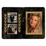Black and Gold Family Kindle Fire Flip Case - Kindle Fire (1st Gen) Flip Case