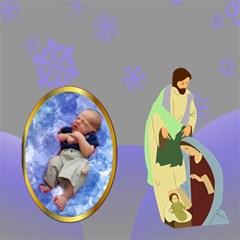 Nativity Storage Stool By Joy Johns   Storage Stool 12    5v14iooxvfr7   Www Artscow Com Front