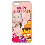 Happy Birthday - Apple Seamless iPhone 5 Case (Clear)