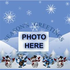 Season s Greetings Storage Stool By Joy Johns   Storage Stool 12    U1wgkn5fsozk   Www Artscow Com Front