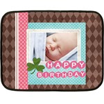 happy birthday - Fleece Blanket (Mini)
