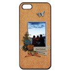 Apple iPhone 5  - Cherished Memories - Apple iPhone 5 Seamless Case (Black)
