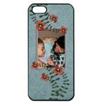 Apple iPhone 5  - Flowers - Apple iPhone 5 Seamless Case (Black)