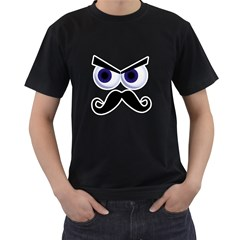 Angry Man Mens' T Shirt (black) by Contest1736471