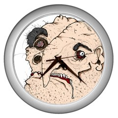 This Guy? Wall Clock (silver) by Contest1736494
