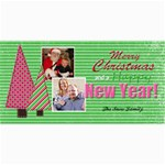 christmas cards 2 - 4  x 8  Photo Cards