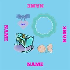 Baby Boy Storage Stool By Joy Johns   Storage Stool 12    7l92jvd8da23   Www Artscow Com Top