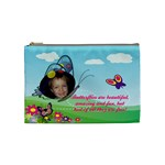 Butterfly medium cosmetic bag - Cosmetic Bag (Medium)