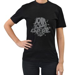 Join The Dark Side! Womens' Two Sided T Shirt (black) by Contest1732527