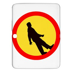 Walking Traffic Sign Samsung Galaxy Tab 3 (10 1 ) P5200 Hardshell Case  by youshidesign