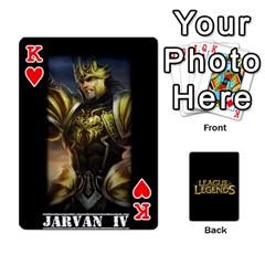 King League Cards By Seongjun Kim   Playing Cards 54 Designs   Tpbueke158mz   Www Artscow Com Front - HeartK