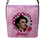 Dance Flap Closure Messenger Bag (large) - Flap Closure Messenger Bag (L)
