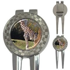 Giraffe Golf Pitchfork & Ball Marker by plindlau