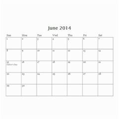 Calander For Tzipora By Chaya   Wall Calendar 8 5  X 6    6szcbyv82agn   Www Artscow Com Jun 2014