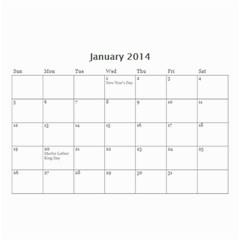 Calander For Tzipora By Chaya   Wall Calendar 8 5  X 6    6szcbyv82agn   Www Artscow Com Jan 2014
