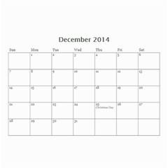 Calander For Tzipora By Chaya   Wall Calendar 8 5  X 6    6szcbyv82agn   Www Artscow Com Dec 2014