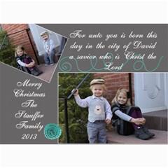 2013 Christmas Card 1 By Lisa   5  X 7  Photo Cards   5ryojhz7g5ee   Www Artscow Com 7 x5 Photo Card - 3