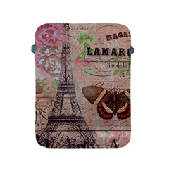 Girly Bee Crown  Butterfly Paris Eiffel Tower Fashion Apple Ipad 2/3/4 Protective Soft Case by chicelegantboutique