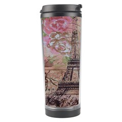 Girly Bee Crown  Butterfly Paris Eiffel Tower Fashion Travel Tumbler by chicelegantboutique