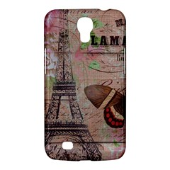 Girly Bee Crown  Butterfly Paris Eiffel Tower Fashion Samsung Galaxy Mega 6 3  I9200 by chicelegantboutique