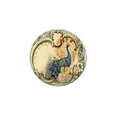 Victorian Swirls Peacock Floral Paris Decor Golf Ball Marker 10 Pack by chicelegantboutique