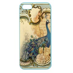 Victorian Swirls Peacock Floral Paris Decor Apple Seamless Iphone 5 Case (color) by chicelegantboutique