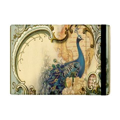 Victorian Swirls Peacock Floral Paris Decor Apple Ipad Mini Flip Case by chicelegantboutique