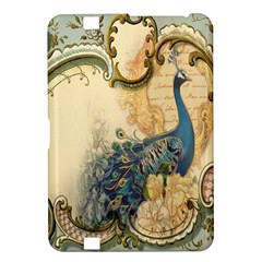 Victorian Swirls Peacock Floral Paris Decor Kindle Fire Hd 8 9  Hardshell Case by chicelegantboutique