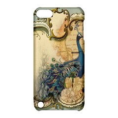 Victorian Swirls Peacock Floral Paris Decor Apple Ipod Touch 5 Hardshell Case With Stand by chicelegantboutique