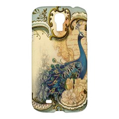Victorian Swirls Peacock Floral Paris Decor Samsung Galaxy S4 I9500/i9505 Hardshell Case by chicelegantboutique