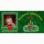 Holiday photo card #5, 4x8 - 4  x 8  Photo Cards