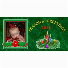 Holiday Photo Card #5, 4x8 By Joy Johns   4  X 8  Photo Cards   Bqmxe4ewsjem   Www Artscow Com 8 x4 Photo Card - 4