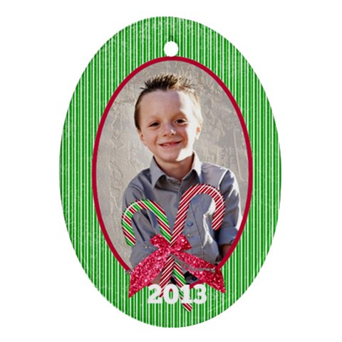 Ornament 3 By Emily   Ornament (oval)   Xnikiqmdgsta   Www Artscow Com Front