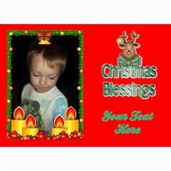 Holiday Card #7, 5x7 By Joy Johns   5  X 7  Photo Cards   Inas7jlpxs5q   Www Artscow Com 7 x5 Photo Card - 1