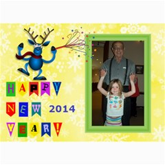 Happy New Year Photo Card, 5x7 By Joy Johns   5  X 7  Photo Cards   G325kb27nfus   Www Artscow Com 7 x5 Photo Card - 4